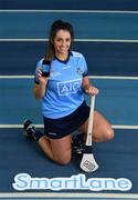 "6 December 2018; Dublin camogie player Ali Twomey was at the National Sports Campus today to launch AIG's ""try before you buy"" SmartLane driving app, which gives good drivers up to 20% off their car insurance. Simply download the AIG SmartLane app to take part in the SmartLane driving challenge and you could win some great prizes including Dublin GAA jerseys and One4all vouchers. Go to www.aig.ie/smartlane  to find out more or visit the Android or iOS App store. Photo by Brendan Moran/Sportsfile"