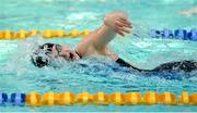 7 December 2018; Mona McSharry of Marlins on her way to breaking the Irish record in the heats of the Women's 100m freestyle event during the Friday of the Irish Short Course Swimming Championships at Lagan Valley Leisureplex in Antrim. Photo by Oliver McVeigh/Sportsfile