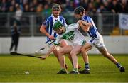 2 December 2018; Eoin Cody of Ballyhale Shamrocks in action against Luke Corcoran, left, and David O'Connor of Ballyboden St Enda's during the AIB Leinster GAA Hurling Senior Club Championship Final match Ballyboden St Enda's and Ballyhale Shamrocks at Netwatch Cullen Park in Carlow. Photo by Piaras Ó Mídheach/Sportsfile