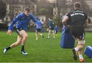 7 December 2018; Garry Ringrose during the Leinster Rugby captain's run at the Recreation Ground in Bath, England. Photo by Ramsey Cardy/Sportsfile