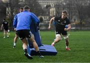 7 December 2018; Josh van der Flier during the Leinster Rugby captain's run at the Recreation Ground in Bath, England. Photo by Ramsey Cardy/Sportsfile