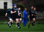 7 December 2018; Tadhg Furlong during the Leinster Rugby captain's run at the Recreation Ground in Bath, England. Photo by Ramsey Cardy/Sportsfile