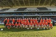 28 October 2018; The Duhallow squad before the Cork County Senior Club Football Championship Final match between Duhallow and St Finbarrs at Páirc Uí Chaoimh, Cork. Photo by Piaras Ó Mídheach/Sportsfile