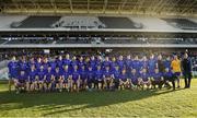 28 October 2018; The St Finbarrs squad before the Cork County Senior Club Football Championship Final match between Duhallow and St Finbarrs at Páirc Uí Chaoimh, Cork. Photo by Piaras Ó Mídheach/Sportsfile
