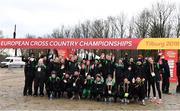 8 December 2018; The Ireland Team during the European Cross Country Previews at Beekse Bergen Safari Park in Tilburg, Netherlands. Photo by Sam Barnes/Sportsfile