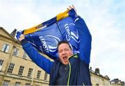8 December 2018; Leinster supporter Eugene Canavan prior to the European Rugby Champions Cup Pool 1 Round 3 match between Bath and Leinster at the Recreation Ground in Bath, England. Photo by Ramsey Cardy/Sportsfile