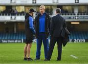 8 December 2018; Leinster head coach Leo Cullen prior to the European Rugby Champions Cup Pool 1 Round 3 match between Bath and Leinster at the Recreation Ground in Bath, England. Photo by Ramsey Cardy/Sportsfile