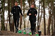 8 December 2018; Ryan Forsyth, left, and Jack O'Leary of Ireland during the European Cross Country Previews at Beekse Bergen Safari Park in Tilburg, Netherlands. Photo by Sam Barnes/Sportsfile
