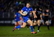 8 December 2018; Jordan Larmour of Leinster on his way to scoring his side's second try during the European Rugby Champions Cup Pool 1 Round 3 match between Bath and Leinster at the Recreation Ground in Bath, England. Photo by Ramsey Cardy/Sportsfile