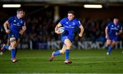 8 December 2018; Jordan Larmour of Leinster makes a line break, which led to his side's second try, during the European Rugby Champions Cup Pool 1 Round 3 match between Bath and Leinster at the Recreation Ground in Bath, England. Photo by Ramsey Cardy/Sportsfile
