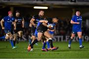8 December 2018; Joe Cokanasiga of Bath is tackled by Jordan Larmour of Leinster during the European Rugby Champions Cup Pool 1 Round 3 match between Bath and Leinster at the Recreation Ground in Bath, England. Photo by Ramsey Cardy/Sportsfile