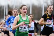 9 December 2018; Sarah Healy of Ireland competing in the U20 Women's event during the European Cross Country Championships at Beekse Bergen Safari Park in Tilburg, Netherlands. Photo by Sam Barnes/Sportsfile