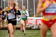 9 December 2018; Jodie McCann of Ireland competing in the U20 Women's event during the European Cross Country Championships at Beekse Bergen Safari Park in Tilburg, Netherlands. Photo by Sam Barnes/Sportsfile