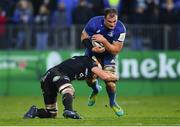 8 December 2018; Rhys Ruddock of Leinster is tackled by Francois Louw of Bath during the European Rugby Champions Cup Pool 1 Round 3 match between Bath and Leinster at the Recreation Ground in Bath, England. Photo by Ramsey Cardy/Sportsfile