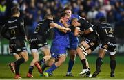 8 December 2018; Sam Underhill of Bath is tackled by Rhys Ruddock of Leinster during the European Rugby Champions Cup Pool 1 Round 3 match between Bath and Leinster at the Recreation Ground in Bath, England. Photo by Ramsey Cardy/Sportsfile