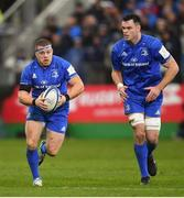8 December 2018; Seán Cronin, left, and James Ryan of Leinster during the European Rugby Champions Cup Pool 1 Round 3 match between Bath and Leinster at the Recreation Ground in Bath, England. Photo by Ramsey Cardy/Sportsfile