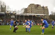 8 December 2018; James Ryan of Leinster in action against Semesa Rokoduguni of Bath during the European Rugby Champions Cup Pool 1 Round 3 match between Bath and Leinster at the Recreation Ground in Bath, England. Photo by Ramsey Cardy/Sportsfile