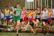 9 December 2018; Ryan Forsyth of Ireland competing in the U23 Men's event during the European Cross Country Championships at Beekse Bergen Safari Park in Tilburg, Netherlands. Photo by Sam Barnes/Sportsfile