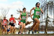 9 December 2018; Damian Lander, left, and Mick Clohisey of Ireland competing in the Senior Men's event during the European Cross Country Championships at Beekse Bergen Safari Park in Tilburg, Netherlands. Photo by Sam Barnes/Sportsfile