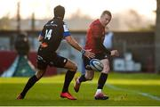 9 December 2018; Keith Earls of Munster in action against Armand Batlle of Castres Olympique during the European Rugby Champions Cup Pool 2 Round 3 match between Munster and Castres at Thomond Park in Limerick. Photo by Diarmuid Greene/Sportsfile