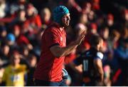 9 December 2018; Tadhg Beirne of Munster apologises to team-mates after a knock-on during the European Rugby Champions Cup Pool 2 Round 3 match between Munster and Castres at Thomond Park in Limerick. Photo by Diarmuid Greene/Sportsfile