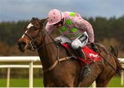 9 December 2018; Min, with Ruby Walsh up, on their way to winning the John Durkan Memorial Punchestown Steeplechase at Punchestown Racecourse in Naas, Co. Kildare. Photo by Seb Daly/Sportsfile