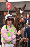 9 December 2018; Jockey Ruby Walsh after winning the John Durkan Memorial Punchestown Steeplechase on Min at Punchestown Racecourse in Naas, Co. Kildare. Photo by Seb Daly/Sportsfile