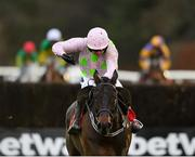 9 December 2018; Getabird, with Ruby Walsh up, on their way to winning the GAIN Supporting Laois GAA Beginners Steeplechase at Punchestown Racecourse in Naas, Co. Kildare. Photo by Seb Daly/Sportsfile