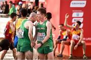 9 December 2018; Kevin Dooney, right, and Kevin Maunsell of Ireland after competing in the Senior Men's event during the European Cross Country Championship at Beekse Bergen Safari Park in Tilburg, Netherlands. Photo by Sam Barnes/Sportsfile