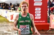 9 December 2018; Sean Tobin of Ireland after competing in the Senior Men's event during the European Cross Country Championship at Beekse Bergen Safari Park in Tilburg, Netherlands. Photo by Sam Barnes/Sportsfile