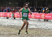 9 December 2018; Mick Clohisey of Ireland, centre, competing in the Senior Men's Event during the European Cross Country Championship at Beekse Bergen Safari Park in Tilburg, Netherlands. Photo by Sam Barnes/Sportsfile