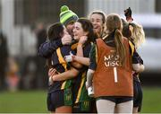 9 December 2018; Glanmire players celebrate after the All-Ireland Ladies Football Junior Club Championship Final match between Glanmire and Tourlestrane at Duggan Park in Galway. Photo by Piaras Ó Mídheach/Sportsfile