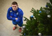 10 December 2018; Tadhg Furlong poses for a portrait following a Leinster Rugby Press Conference at UCD in Dublin. Photo by David Fitzgerald/Sportsfile