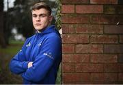 10 December 2018; Garry Ringrose poses for a portrait following a Leinster Rugby Press Conference at UCD in Dublin. Photo by David Fitzgerald/Sportsfile