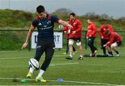 11 December 2018; Conor Murray during Munster Rugby squad training at the University of Limerick in Limerick. Photo by Diarmuid Greene/Sportsfile