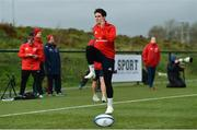 11 December 2018; Joey Carbery trains separate from team-mates during Munster Rugby squad training at the University of Limerick in Limerick. Photo by Diarmuid Greene/Sportsfile
