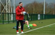 11 December 2018; Alby Mathewson during Munster Rugby squad training at the University of Limerick in Limerick. Photo by Diarmuid Greene/Sportsfile