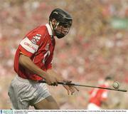 14 September 2003; Setanta O'hAilpin, Cork. Guinness All-Ireland Senior Hurling Championship Final, Kilkenny v Cork, Croke Park, Dublin. Picture credit; Brendan Moran / SPORTSFILE *EDI*