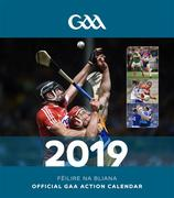 *** Available mid December *** The Official GAA Action Calendar 2019 with a page to view per month features action and fan shots throughout. Postage is additional to the retail price of €9.95