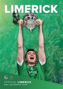 The Official Limerick GAA Calendar 2019 cover with a page to view per month features action and fan shots throughout. Postage is additional to the retail price of €9.95