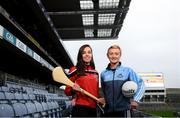 12 December 2018; Cork camogie player Julia White, left, and Dublin ladies footballer Carla Rowe in attendance at the GAA/OCO Rights Awareness Resource Launch at Croke Park in Dublin. Photo by David Fitzgerald/Sportsfile