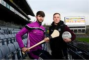 12 December 2018; Wexford hurler Paudie Foley, left, and Fermanagh footballer Cian McManus in attendance at the GAA/OCO Rights Awareness Resource Launch at Croke Park in Dublin. Photo by David Fitzgerald/Sportsfile