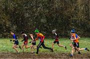 10 February 2018; A general view of the action from the Boys U15 event during the Irish Life Health Intermediates, Masters, Juvenile B & Juvenile XC Relays at Kilcoran Estate in Clainbridge, County Galway. Photo by Sam Barnes/Sportsfile