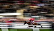 14 March 2018; Tiger Roll, with Keith Donoghue up, on their way to winning The Glenfarclas Steeple Chase on Day Two of the Cheltenham Racing Festival at Prestbury Park in Cheltenham, England. Photo by Ramsey Cardy/Sportsfile