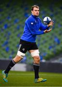 14 December 2018; Rhys Ruddock during the Leinster Rugby captains run at the Aviva Stadium in Dublin. Photo by Ramsey Cardy/Sportsfile