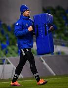 14 December 2018; Adam Byrne during the Leinster Rugby captains run at the Aviva Stadium in Dublin. Photo by Ramsey Cardy/Sportsfile