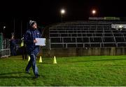 14 December 2018; Limerick manager John Kiely makes his way to the pitch prior to the Co-Op Superstores Munster Hurling League 2019 match between Limerick and Tipperary at the Gaelic Grounds in Limerick. Photo by Matt Browne/Sportsfile