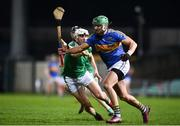 14 December 2018; James Barry of Tipperary in action against Aaron Gillane of  Limerick during the Co-Op Superstores Munster Hurling League 2019 match between Limerick and Tipperary at the Gaelic Grounds in Limerick. Photo by Matt Browne/Sportsfile