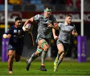 14 December 2018; Robin Copeland of Connacht races clear on the way to setting up his side's third try during the Heineken Champions Cup Pool 3 Round 4 match between Perpignan and Connacht at the Stade Aime Giral in Perpignan, France. Photo by Brendan Moran/Sportsfile