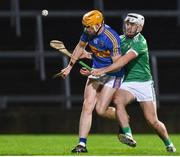 14 December 2018; Mark Kehoe of Tipperary in action against against William O'Meara of Limerick during the Co-Op Superstores Munster Hurling League 2019 match between Limerick and Tipperary at the Gaelic Grounds in Limerick. Photo by Matt Browne/Sportsfile